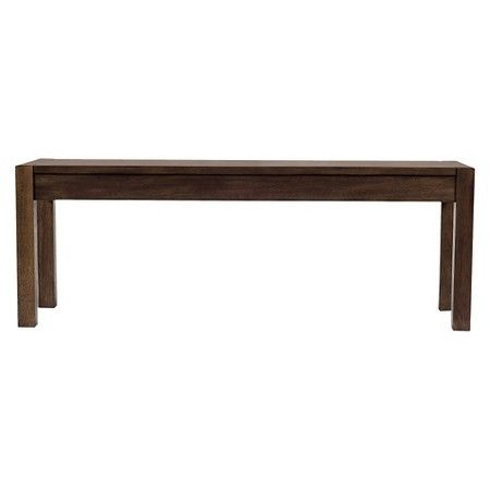 Parsons 50 Quot Dining Bench Brown Threshold Target Wood
