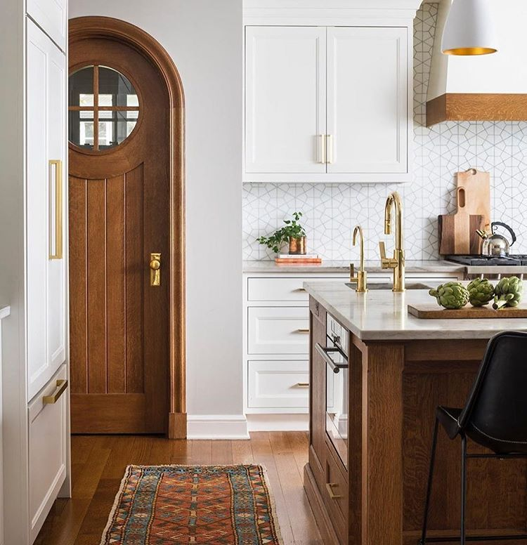 Harmonious Pattern Play Schoolhouseliving Via Studiodearborn Home Kitchens Home Remodeling Interior Design Kitchen