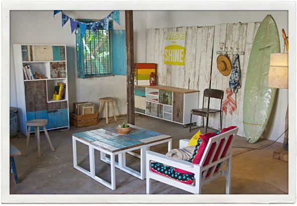 Furniture Interior From The Cowshed Green Room Tanzania Interior Design Rustic Furniture Rustic Decor