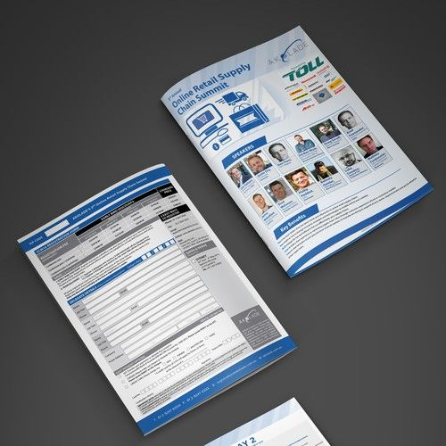 GUARANTEED: Professional Corporate Conference Brochures Brochure contest winning#design#brochure#fred