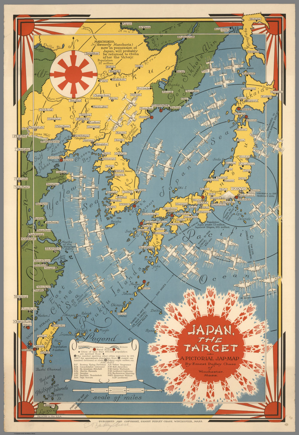 Japan the target by ernest dudley chase 1942 cartography mapcarte japan the target a pictorial jap map by ernest dudley chase 1942 gumiabroncs Images