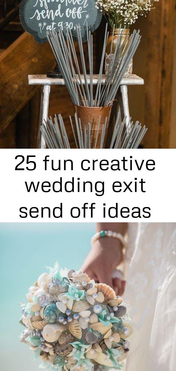 25 fun creative wedding exit send off ideas Wedding