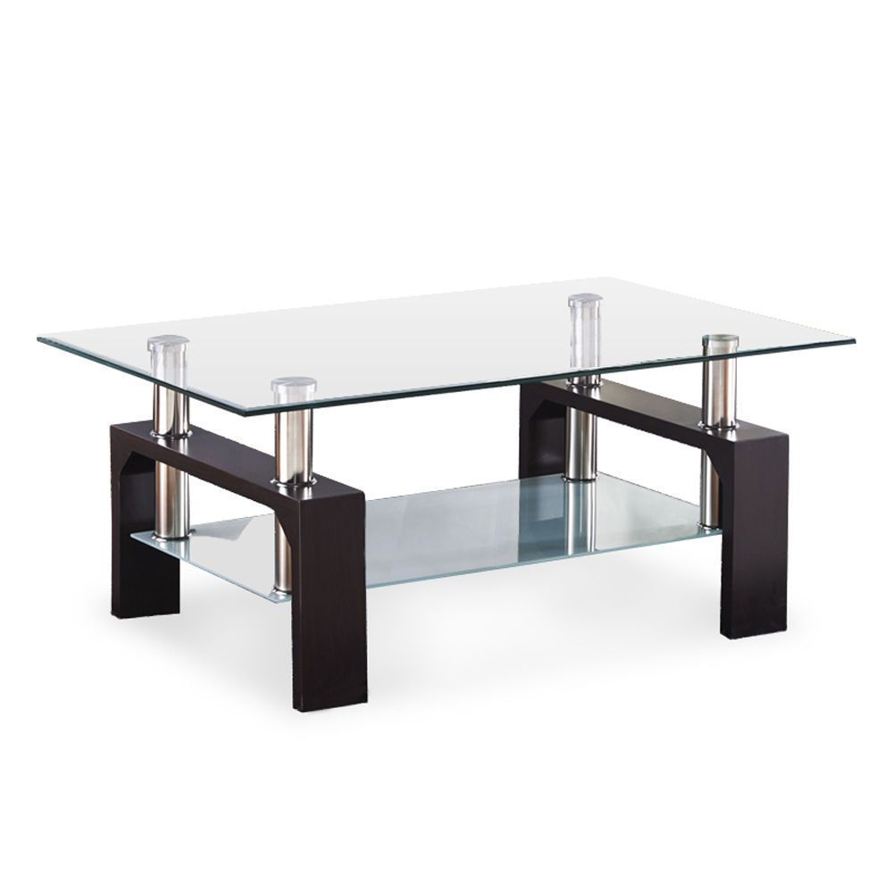 Sleek And Stylish Glass Coffee Tables Yonohomedesign Com In 2020 Wood Furniture Living Room Black Furniture Living Room Living Room Coffee Table