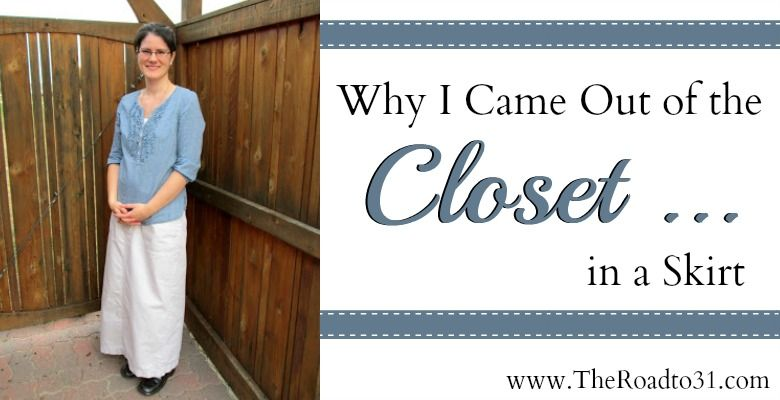 Why I Came Out Of The Closet In A Skirt. A post on