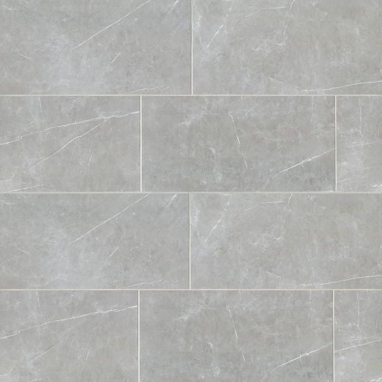 Troy 24 X 48 Floor Wall Tile In Silver By Bedrosian Tile Stone In 2020 Wall Tiles Bathroom Wall Tile Ceramic Wall Tiles