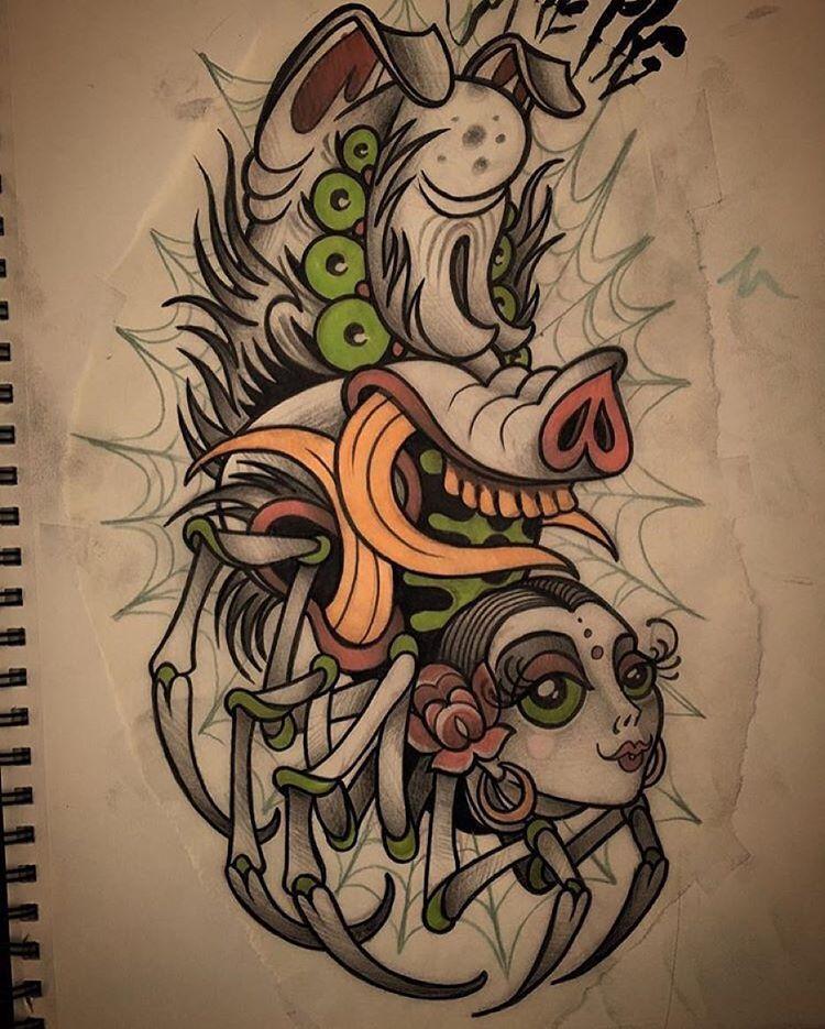 Guru tattoo on instagram charlottes web sketch done