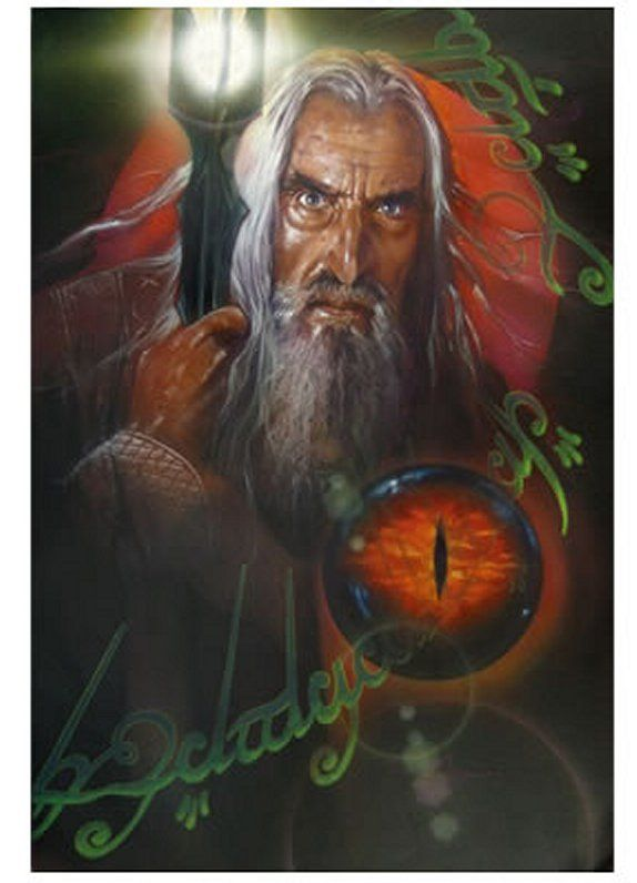 SARUMAN - WIZARD'S FATE BY JOHN ALVIN