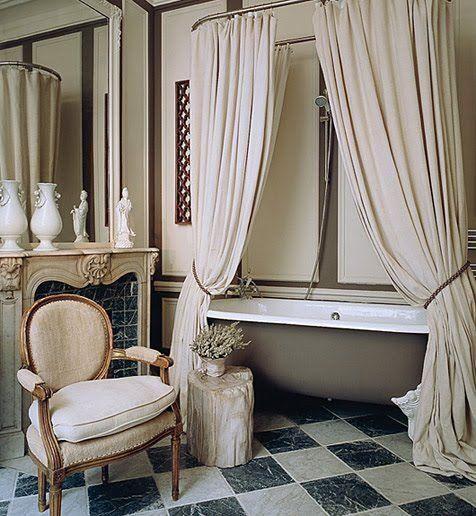 Bathroom Decor Ideas Luxurious Shower Curtains Glamorous