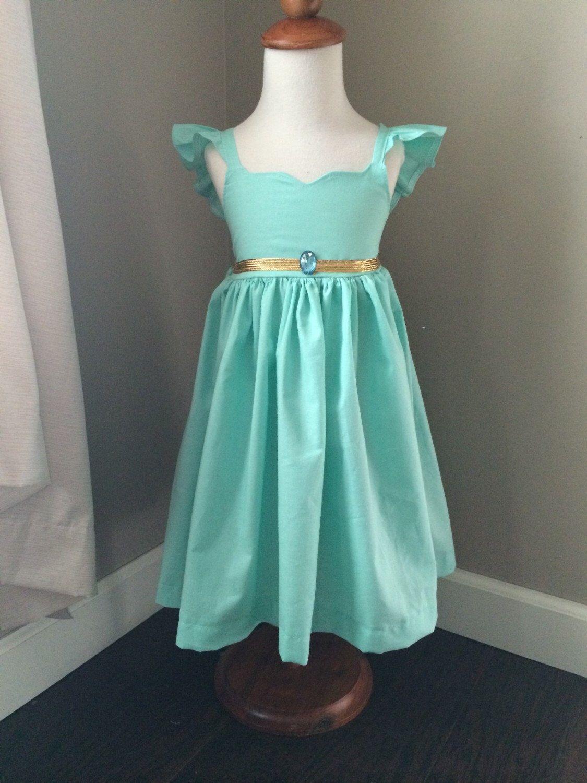 Disney princess Jasmine dress, disney princess, walt disney world, disney, disney, belle, ariel, snow white, elsa, anna, aurora,  by BirdeeCloset on Etsy https://www.etsy.com/listing/230830416/disney-princess-jasmine-dress-disney