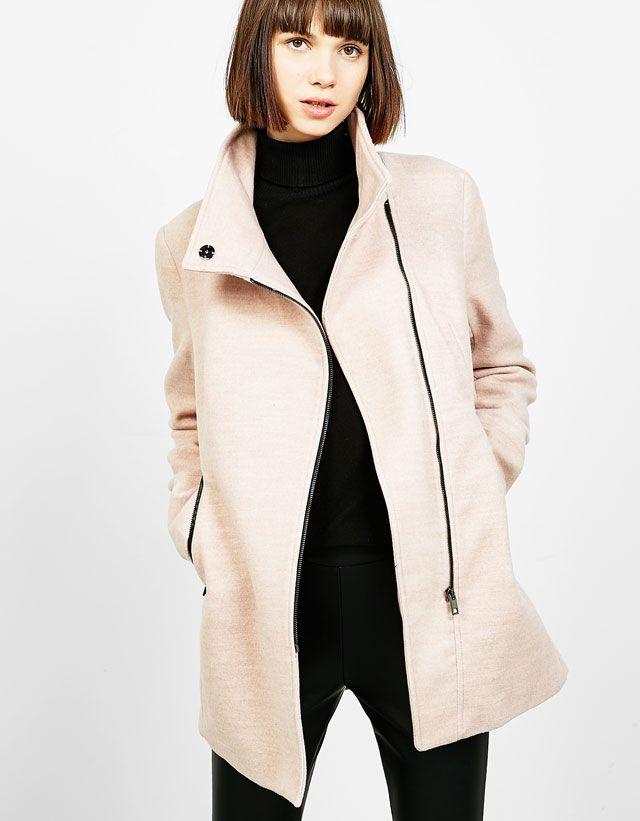 b787f01c738 Coats and Jackets - NEW COLLECTION - WOMAN - Bershka Tunisia ...