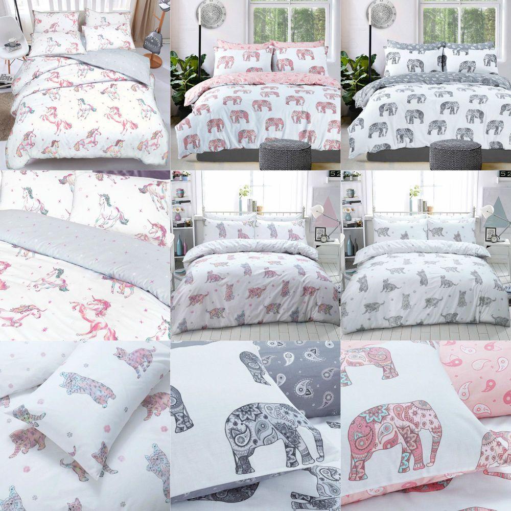 Luxury Animal Print Design Duvet Set Quilt Cover Bedding