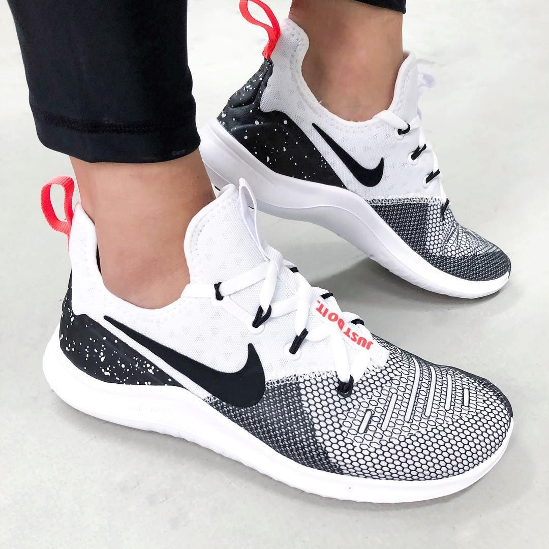 26dedfb2d04fa The Women s Nike Free TR 8 Training shoe features its most supportive heel  yet
