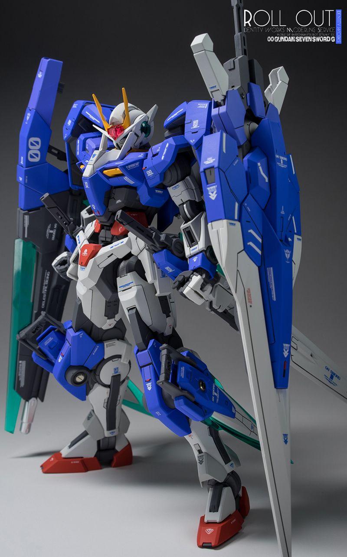Gundam Guy Mg 1 100 00 Seven Sword G Customized Build Bandai 144 Hgoo Gnt 0000 Qant Qanta