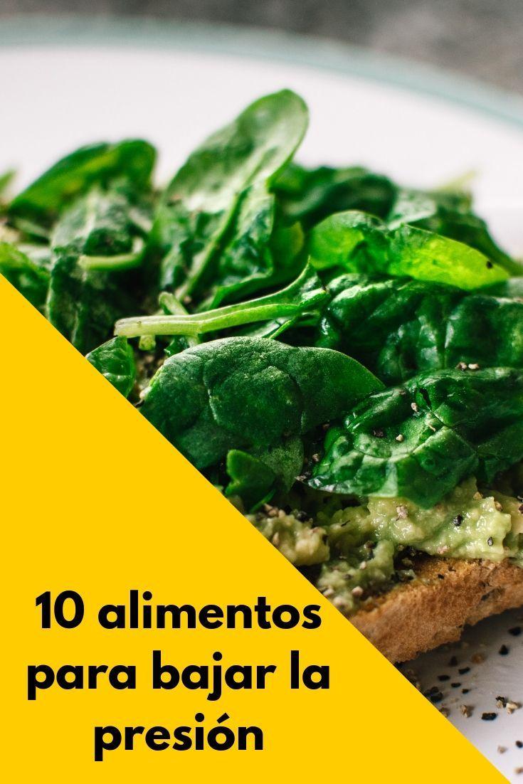 10 alimentos para bajar la presión alta (con imágenes..
