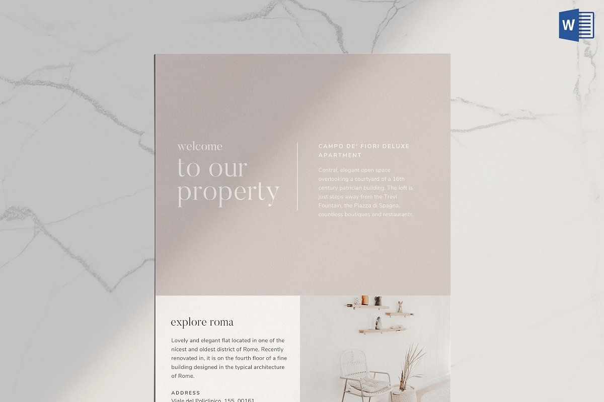 Airbnb Book Template