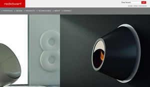 Stunning open web design interface for heating company