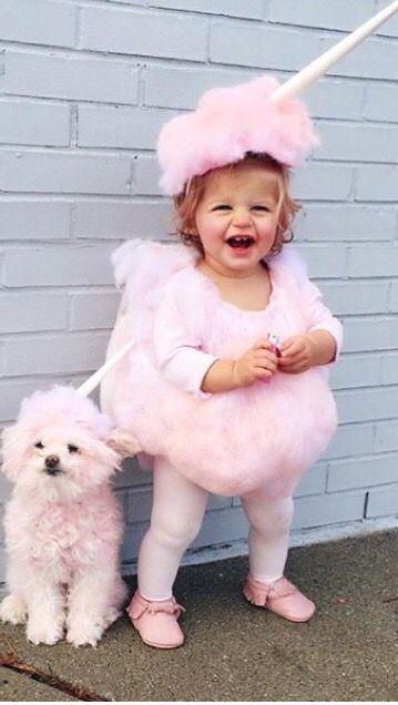 Unicorn Costume Idea Toddler Girl Halloween Candy Halloween