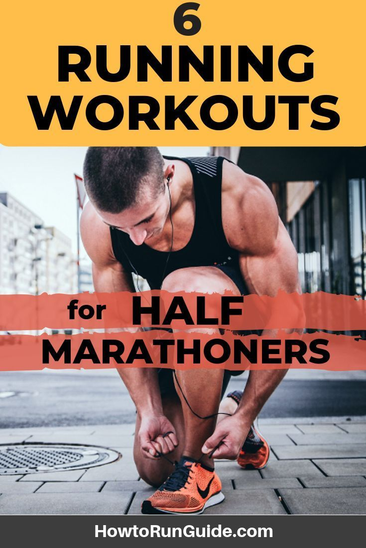 6 running workouts for long distance runners with images