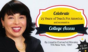 Celebrate 25 Years of Teach For America By Recommitting To College Access