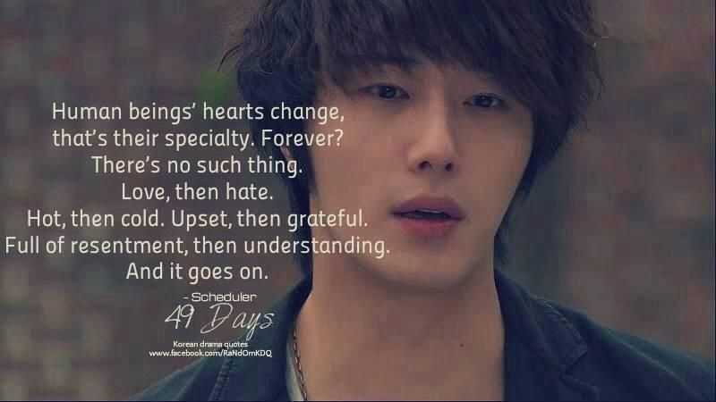 49 Days cr Korean Drama Quotes FB | k(j)(t)drama/kpop fans