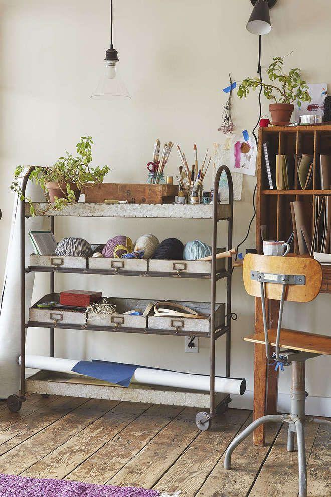 Este es un almacenador con mucho estilo, con un toque vintage, hecho - Ideas Con Mucho Estilo