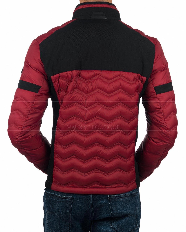 Hugo Boss Down Jacket In Dark Red Jei Link2 Swag Outfits Men Outerwear Jackets Hugo Boss [ 1500 x 1200 Pixel ]