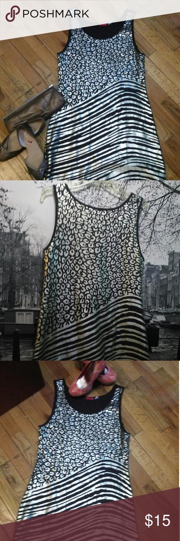Mini Dress Silver and Gold Mini Dress Dresses Mini