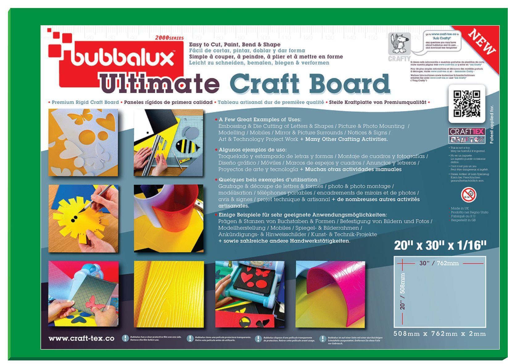 Craftex Bubbalux Ultimate Craft Board