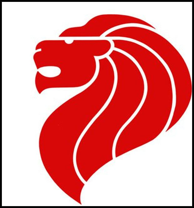 merlion logo | Tutorial 5-Redesign A Poster | Logos, Lion ...