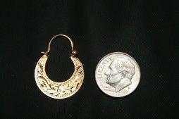 Clic Cuban Hoop Earring Key West Jewelry
