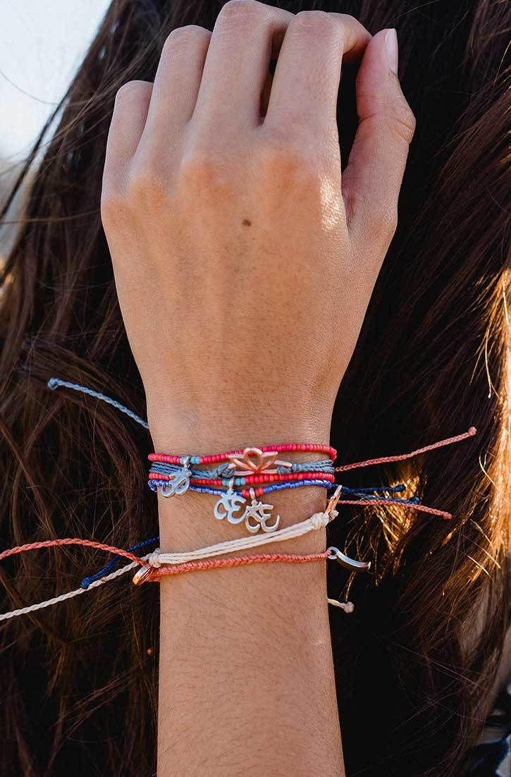 Charm Bracelet - RED FLOWERS BRACELETS by VIDA VIDA uSwLZ