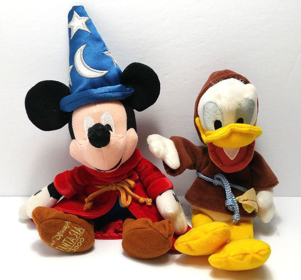 Donald Duck Christmas Soft Toy Doll Deluxe