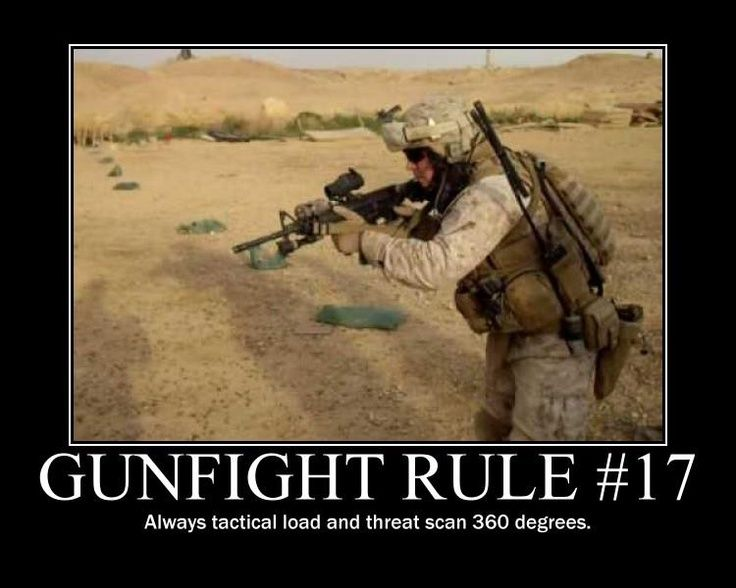 Gunfight Rules Military Quotes Military Memes Military