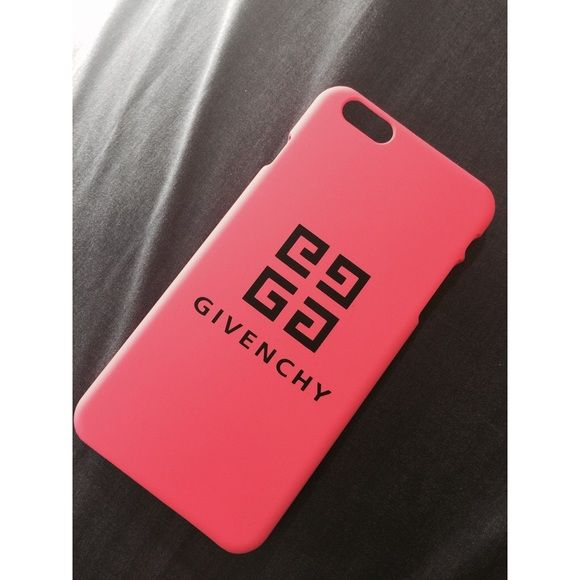 Hot pink Givenchy logo iPhone 6/6s case Brand new. Givenchy Accessories Phone Cases