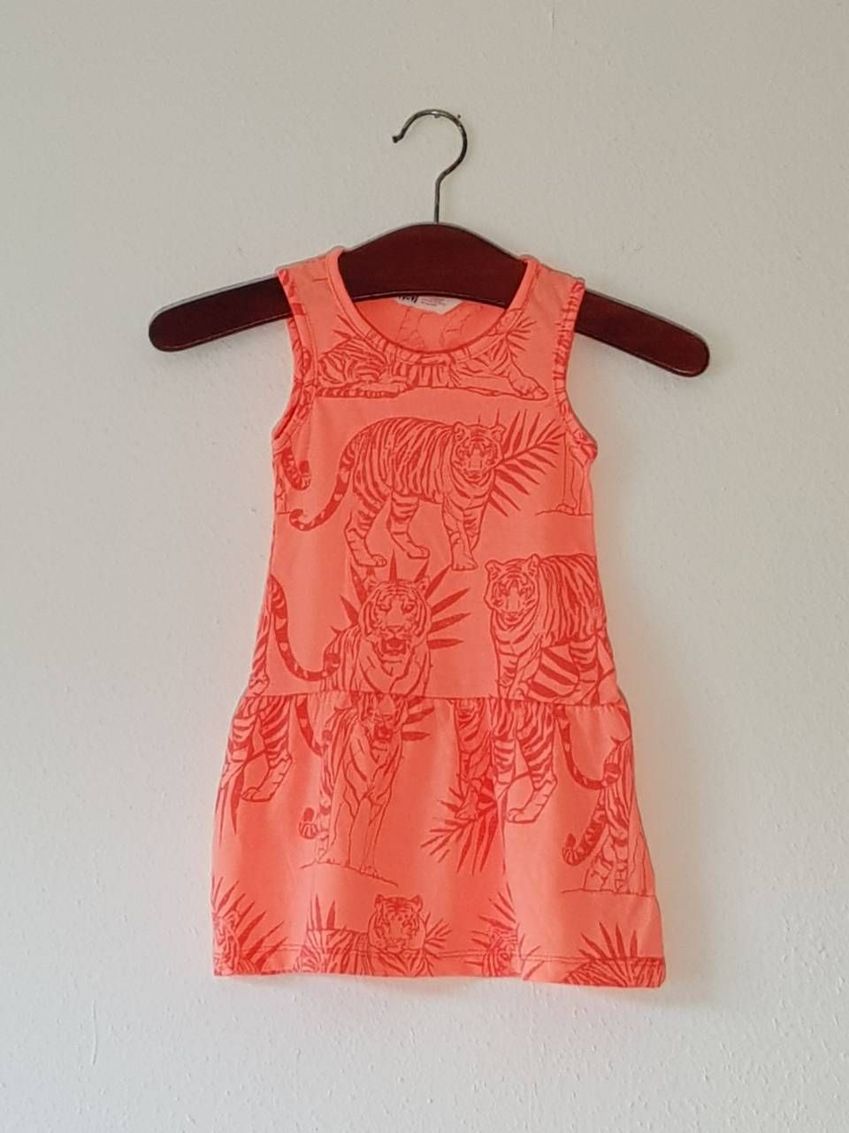 kids infant h & m mädchen kleid floral sleeveless
