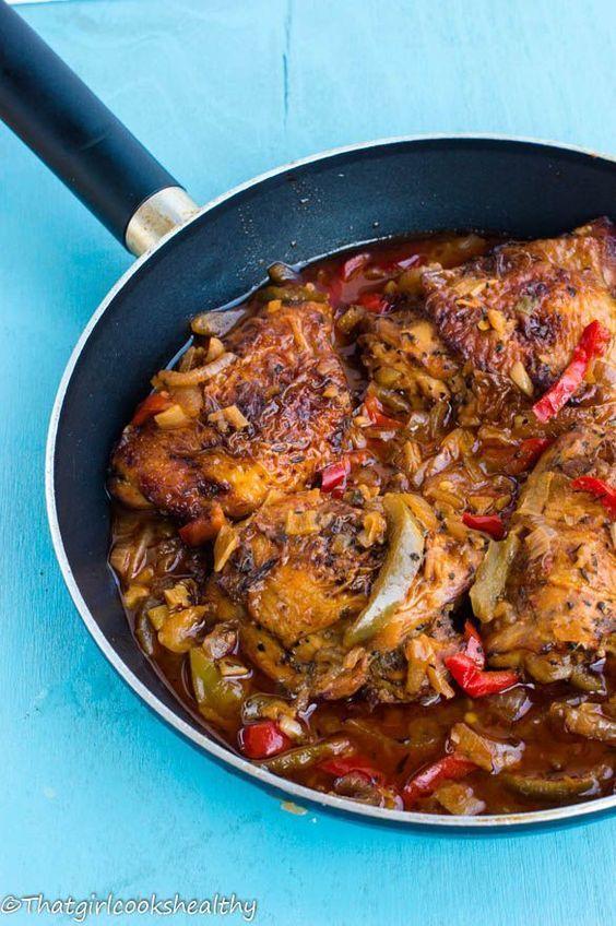 authentic jamaican brown stew chicken  jamaican recipes