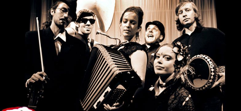 The Underscore Orkestra is a Portland OR based band, playing a blend of Balkan, Klezmer, Gypsy Jazz and Swing