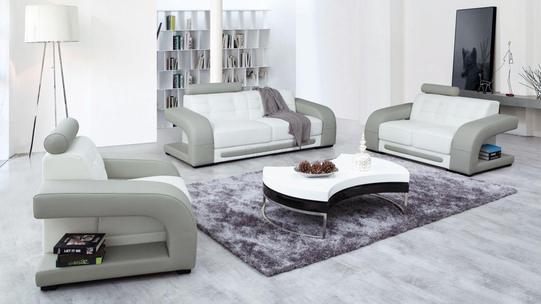 Casanova Leather Sofa Suite 3 + 2 + 1 - Lounge Life ...