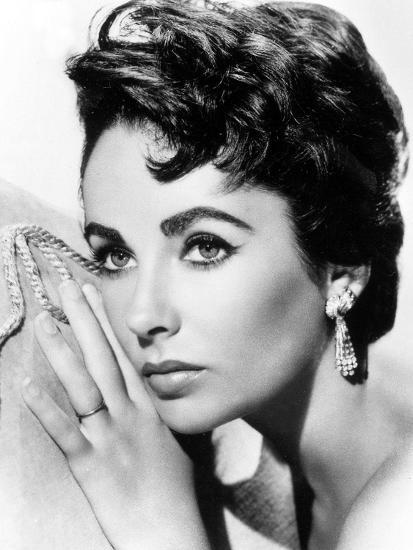'American Actress Liz Taylor C. 1954' Photo - | AllPosters.com