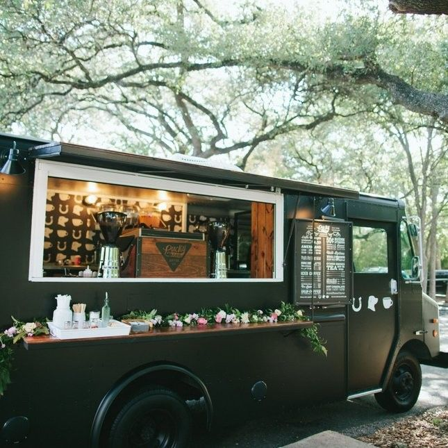 14 Cocktail And Food Truck Ideas For Your Wedding With Images