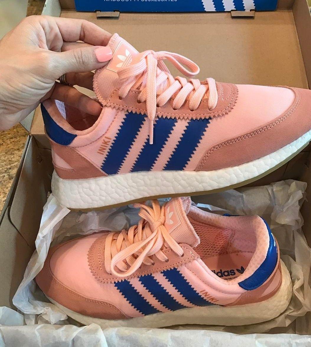 Adidas Originals Iniki In Orange Rosa Blau Orange Blue Foto Amyy Steiner Instagram Turnschuhe Adidas Sneaker Sneaker