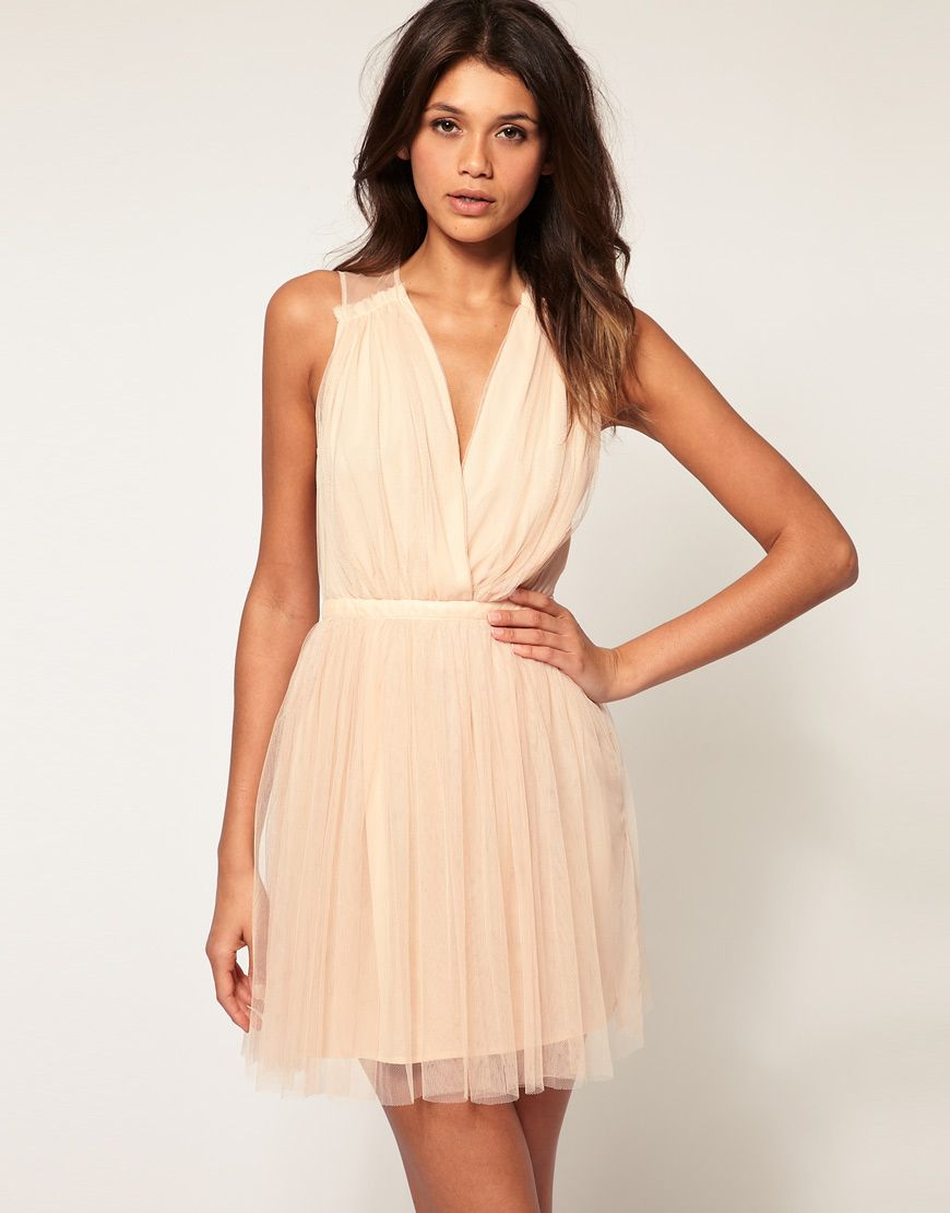 Nude dress window shopping pinterest champagne nude dress and