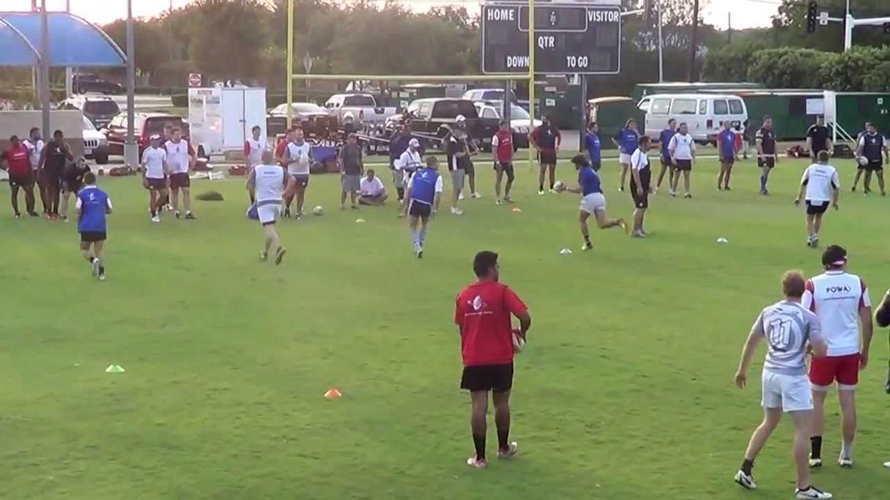 Dave Rennie Pass Catch Drills Overhead View Rugby Coaching Rugby Training Rugby Drills