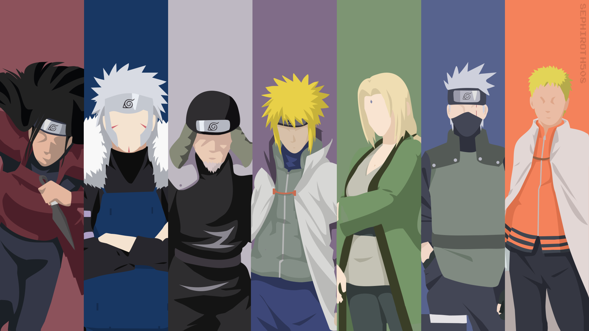 So who is the Weakest among the Hokage? Wallpaper naruto