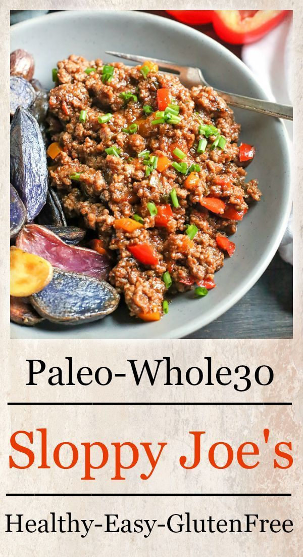 Sloppy Joes- Paleo & Whole30 images