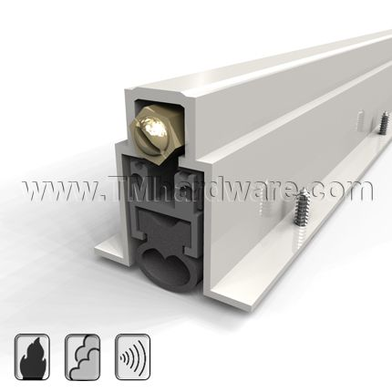 Automatic Door Bottom Mortised Heavy Duty With Neoprene Bulb Seal 1 Drop Automatic Door Sound Proofing Sound Control