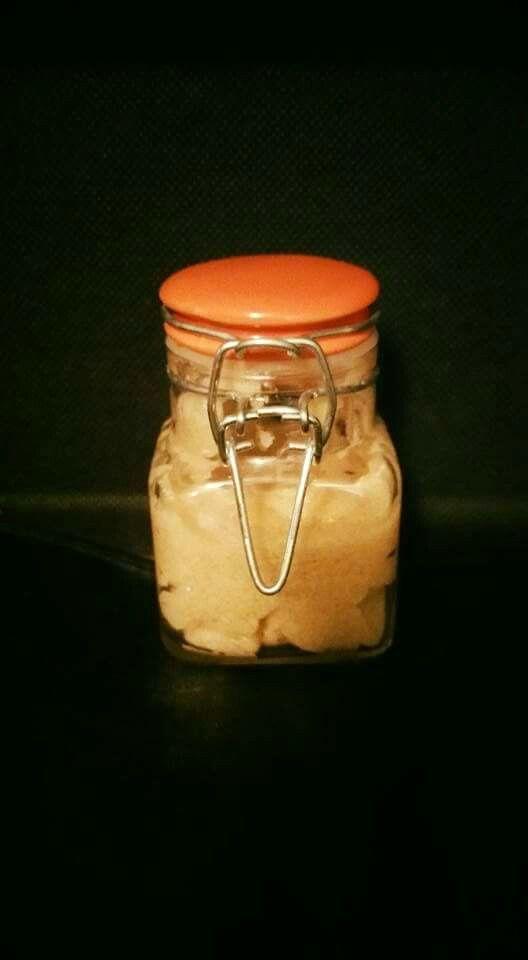 Orange Vanilla Sugar Scrub for lips