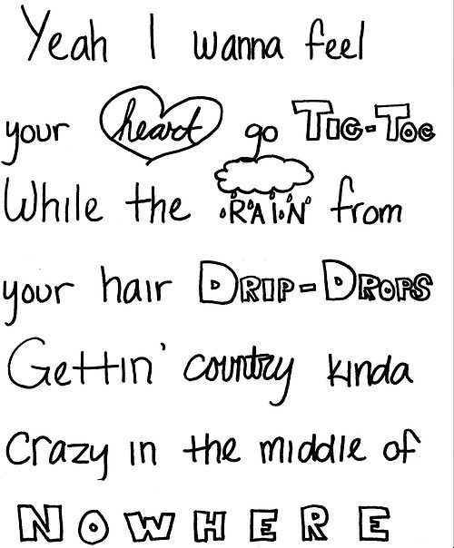 Out Like That Lyrics~Luke Bryan. I love this song. But it