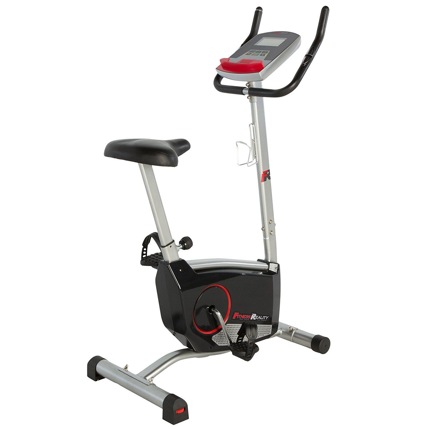 This Fitness Reality 210 Upright Exercise Bike Can Support Users