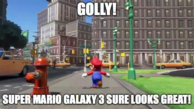 Totally Not Sonic 06 Golly Super Mario Galaxy 3 Sure